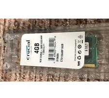 RAM 4GB DDR3 PC3L-12800S 2Rx8 1600MHz PORTATILE MEMORIA 204PIN SODIMM CRUCIAL