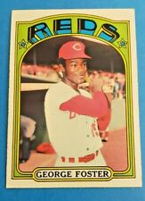 1972 Topps Set Break #256 George Foster  EX-MINT to NEAR MINT  Reds