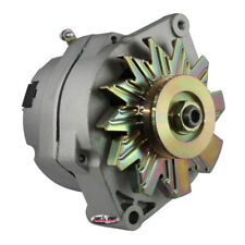 Tuff Stuff Alternator 7127D; Internal Regulator 1-Wire Capable Satin 100 Amp