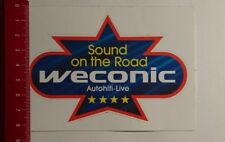 Aufkleber/Sticker: Weconic Autohifi Live Sound on the road (18031775)