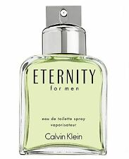 Eternity by Calvin Klein for Men 100ml / 3.4oz Eau De Toilette - NEW TESTER +Box