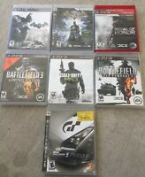 Lot Of 7 Ps3 Games: Batman, Battlefield, Medal Of Honor, Call Of Duty Plus More