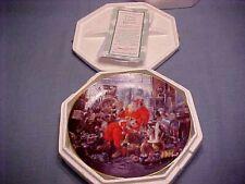 Santa's Candy Kitchen Hamilton Collection Plate G Hinke W Coa Box Fship