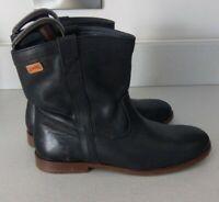 Camper Ladies Black Leather Ankle Boots UK Size 5  -  EUR 38