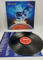 JUDAS PRIEST RAM IT DOWN ALBUM LP 1988 COLUMBIA RECORDS C 44244 TESTED VG+