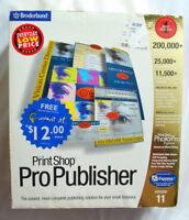 Print Shop Pro Publisher 2001