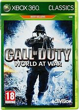 Call of Duty World at War Xbox 360 Brand New Factory Sealed