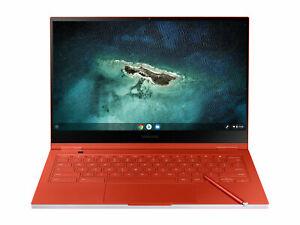 """Samsung Galaxy ChromeBook 13.3"""" 256GB i5-10210U 8GB Laptop Fiesta Red - NEW"""