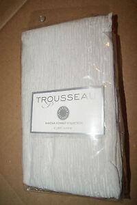 Martha Stewart Trousseau Serenade Euro Pillow Sham Silver New