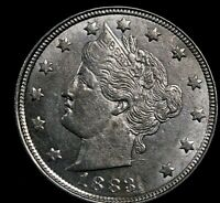 Liberty Nickel 1883 Without Cents  R6i-52-230