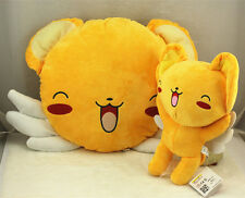 2Pcs Cardcaptor Sakura Pillow & Plush Doll Soft Toy Cute New 12""