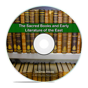 The Sacred Books and Early Literature of the East, All 14 Books on CD H64