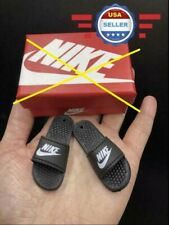 """1/6 Slides Sandals Slippers Nike Shoes A For 12"""" Male Figure Doll ACCESSORY"""