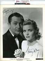 Robert Young Dorothy Mcguire Jsa Coa Hand Signed 8x10 Photo Autograph