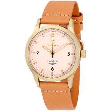 Triwa Lansen Quartz Movement Pink Dial Unisex Watch LAST121131