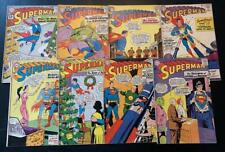 Superman Silver Age Comic Book Lot of 16 GD - FN