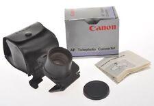 Accessori vintage Canon per fotografia e video