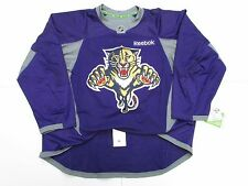 FLORIDA PANTHERS AUTHENTIC PURPLE REEBOK EDGE PRACTICE HOCKEY JERSEY SIZE 54