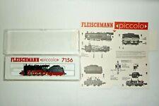 FLEISCHMANN - PICCOLO -  SPUR N - 7156 SCHLEPPTENDER DAMPFLOK  -  OVP (17.EI-42)