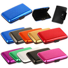 Metal Aluminium Business Id Credit Card Wallet Holder Pocket Case Box Waterproof