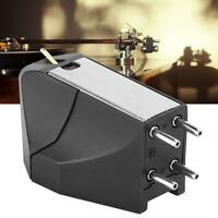 High-End Moving Magnetic Cartridge LP Turntable Phonograph Oval Stylus Accessory