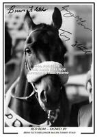 (#100)   red rum brian fletcher ginger mcCain tommy stack signed photo #########