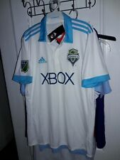 Seattle Sounders FC XBOX soccer Adidas ClimaCool Jersey uniform shirt MLS - L