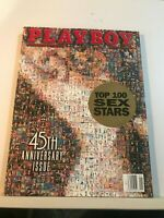 PLAYBOY MAGAZINE JANUARY 1999 45TH ANN. ISSUE TOP SEX STARS   HAS CF