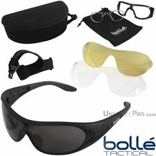 RAIDER Equipo Bollé Tactical gafas de máscara balístico RAIDERKIT sol ejército