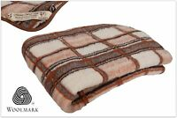 WOOLAMRKED MERINO PURE WOOL BLANKET 100% NATURAL , ALL SIZES  PERFECT GIFT NEW