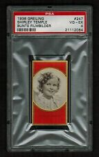 PSA 4 SHIRLEY TEMPLE 1936 Greiling Cigarette Card #247 BEAUTIFUL