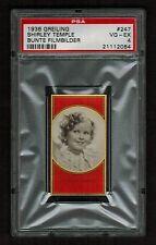 PSA 4 SHIRLEY TEMPLE 1936 Greiling Cigarette Card #247 BEAUTIFUL