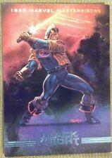 1993 Marvel Masterpieces Black Knight #65 SkyBox Trading Card