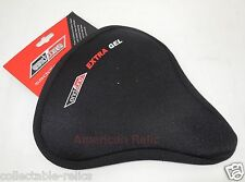 Extra Gel Seat Cover Ladies MTB Soft Comfort Saddle Touring Bike Bicycle 3882