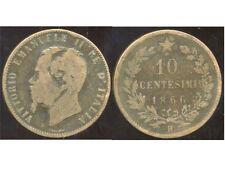 ITALIE  ITALY  10 centesimi  1866 H   ( bis )
