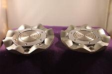 LIMITED SILVER CUSTOM Wheel Center Caps (SET OF 2) P/N # N/A
