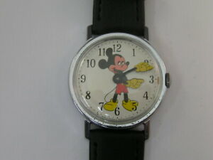 Vintage Mickey Mouse Watch WDP 1970's