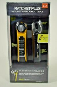 Protocol - 9 in 1 Multi Smart Ratchet Plus (Ratchet / Wrench Multi Tool) New