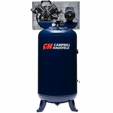 Campbell Hausfeld 5-HP 80-Gallon 4-Cylinder Dual-Voltage Single-Stage Air Com...