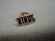 110% Lapel Pins 230 pieces, Employee, Student, etc., Incentive