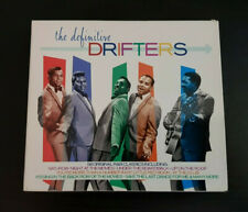 CD DOUBLE ALBUM - THE DRIFTERS - THE DEFINITIVE DRIFTERS