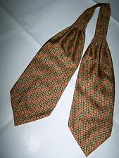 ASCOTT CRAVATTA  SILK TIE 100% MADE IN ITALY
