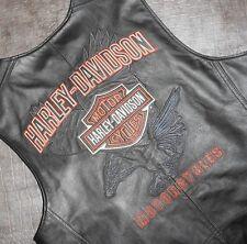 Men' Harley-Davidson Leather Vest (97063-08VM) size M