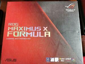 Motherboard ASUS ROG MAXIMUS X FORMULA, Socket 1151, DDR4 RAW RETURN UNTESTED