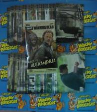 2018 AMC WALKING DEAD ROAD TO ALEXANDRIA BASE SET 100 CARDS NICE NEW SET