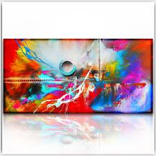 BRATIS ART 120 x 60 cm  Bilder Leinwand Abstrakt Kunst Wandbild  XXL 406A