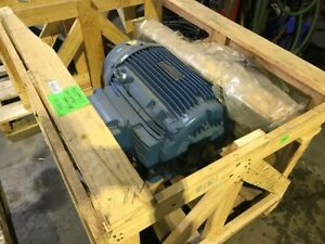 WEG Motor, 60 HP, 3560 RPM, 3 Phase 575 Volt, TEFC, 2 Available, New in Crates