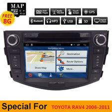 For Toyota RAV4 2006 2007 2008 2009 2010 2011 Car Radio DVD Player GPS Navi +Map