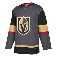 8237e31b7e6 adidas Las Vegas Golden Knights NHL Authentic Home Jersey Adult Medium Size  50