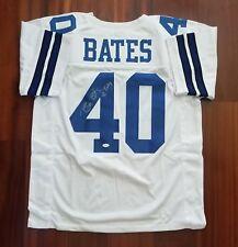 Bill Bates Autographed Signed Jersey Dallas Cowboys JSA